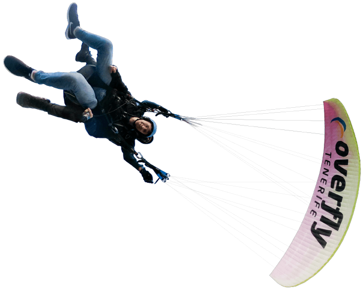 acrobatic paragliding in tenerife