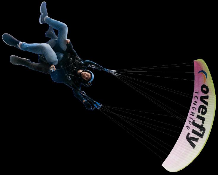 parapente acrobatique à tenerife
