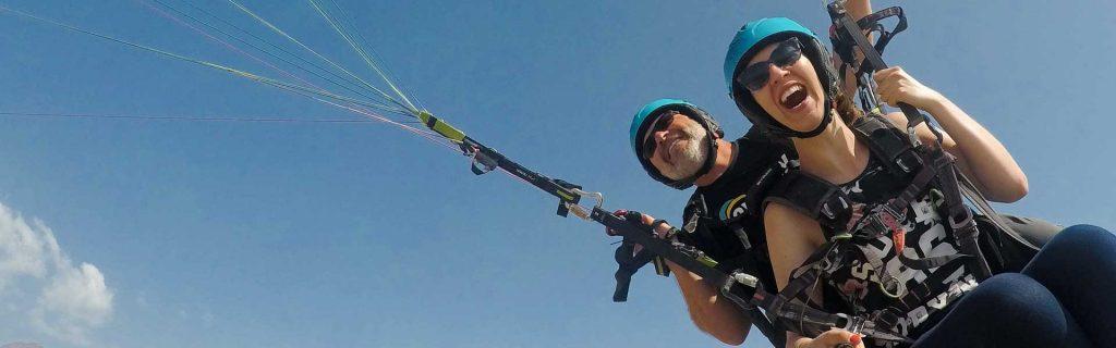 paragliding la caleta in tenerife