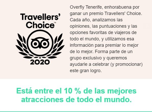certificado travellers choice