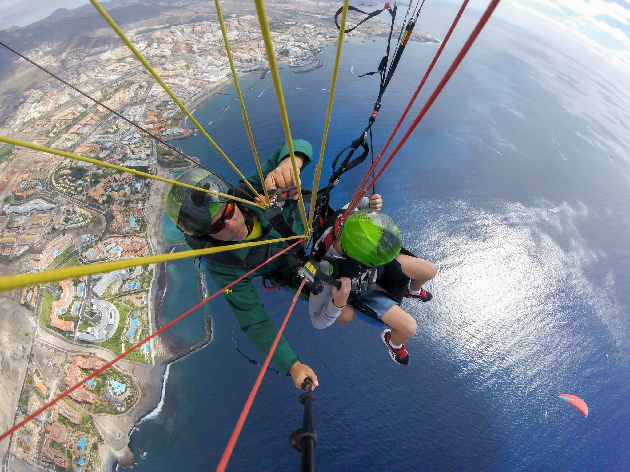 paragliding for children
