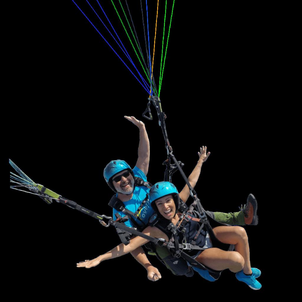 paragliding in costa adeje