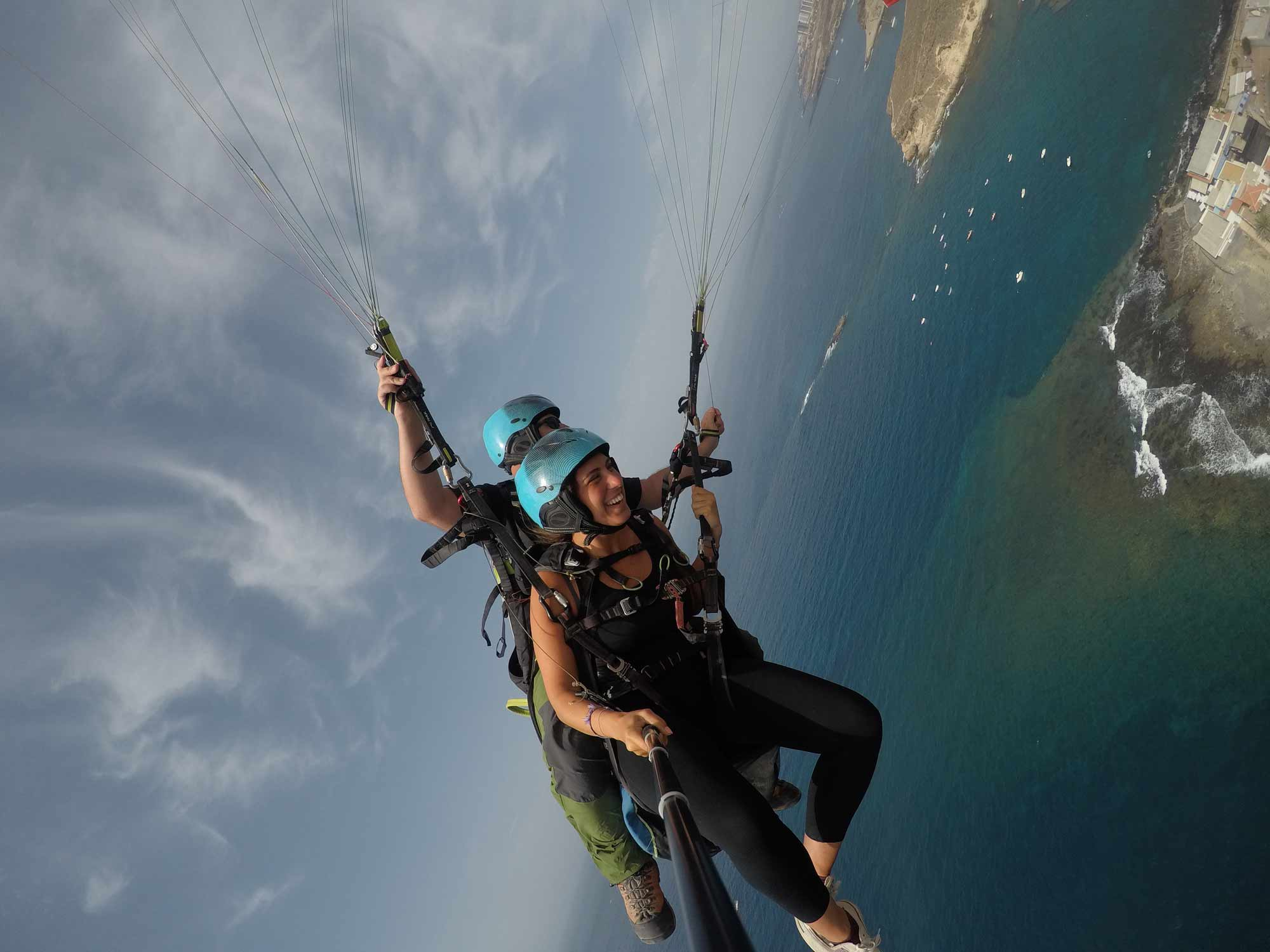 Paragliding Tandem Flight in Costa Adeje