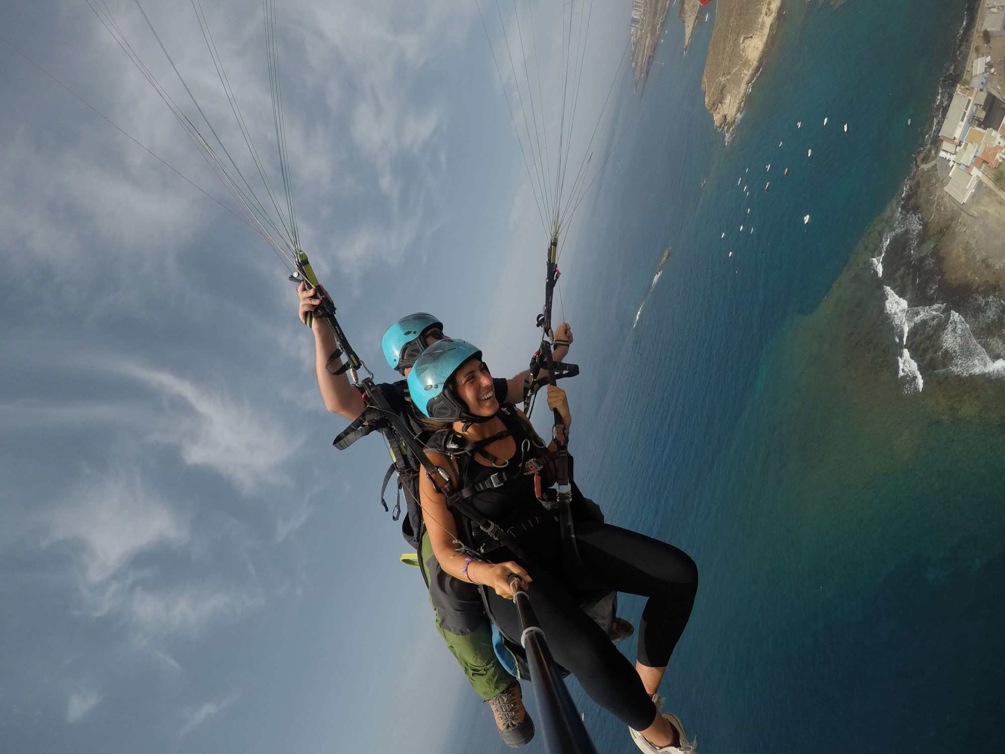 Paragliding Tandem Flight in Adeje