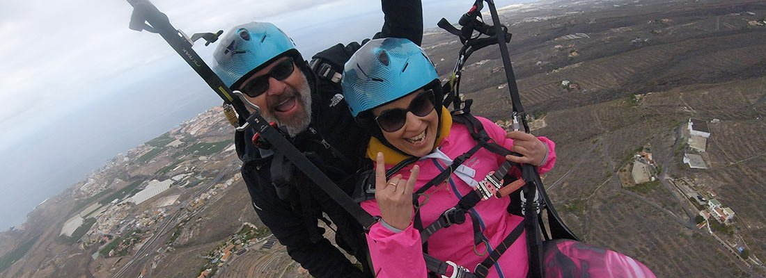 paragliding helmet
