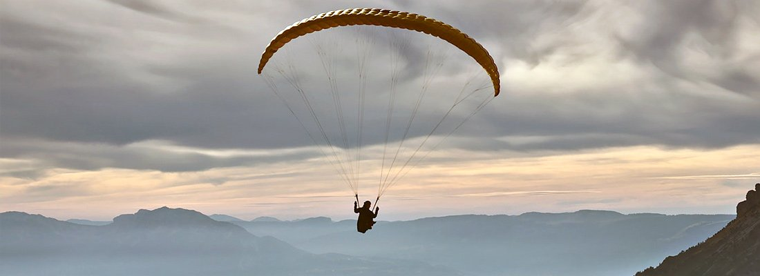 how to do paragliding first time