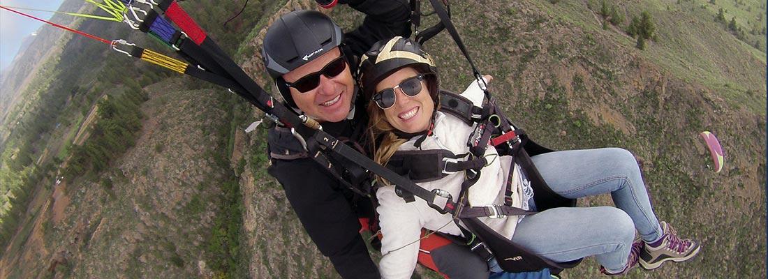 tandem-paraglider