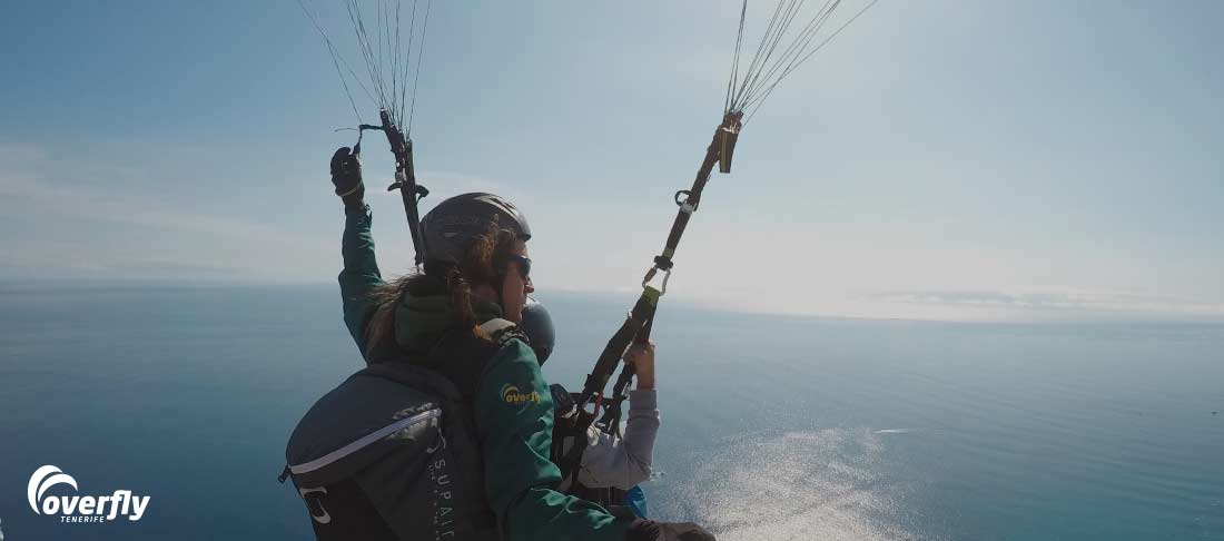 how to paraglide alone