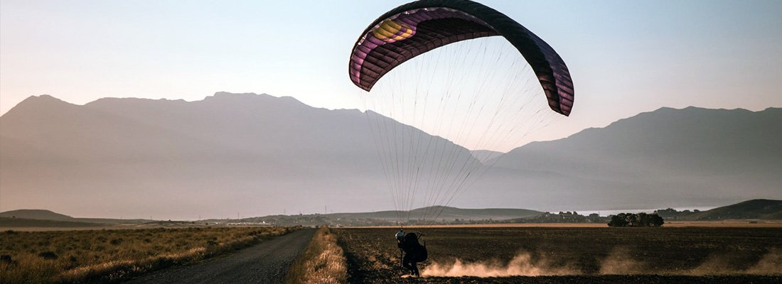 paragliding launch techniques