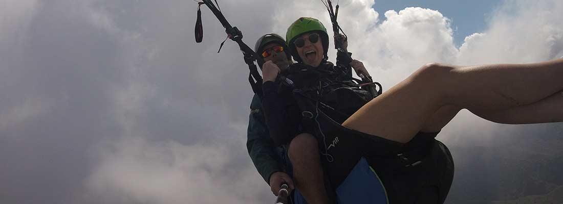 parachute paraglider