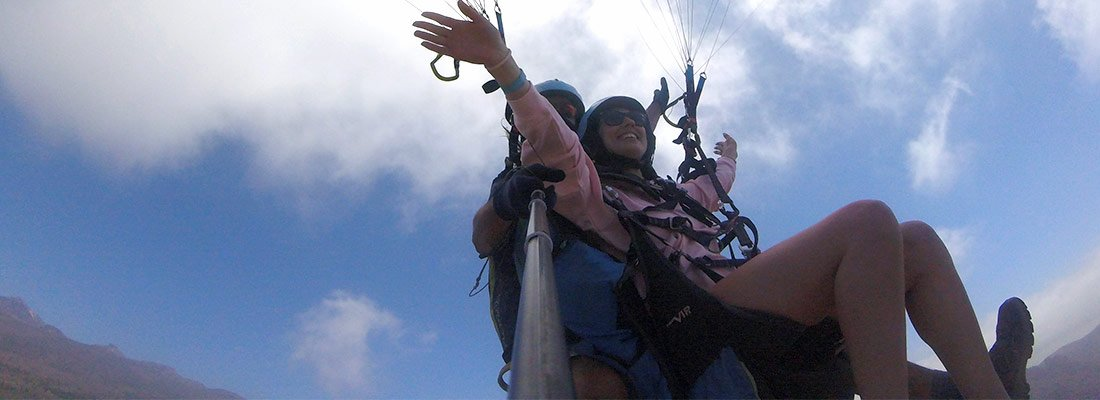 what is better skydiving paragliding