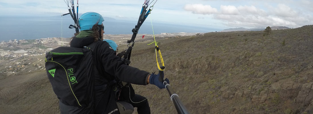 can i paraglide in the rain?