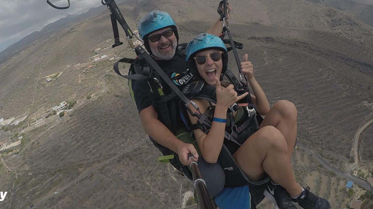 ▷Interesting things about paragliding ➞ 【Overfly Tenerife】✓