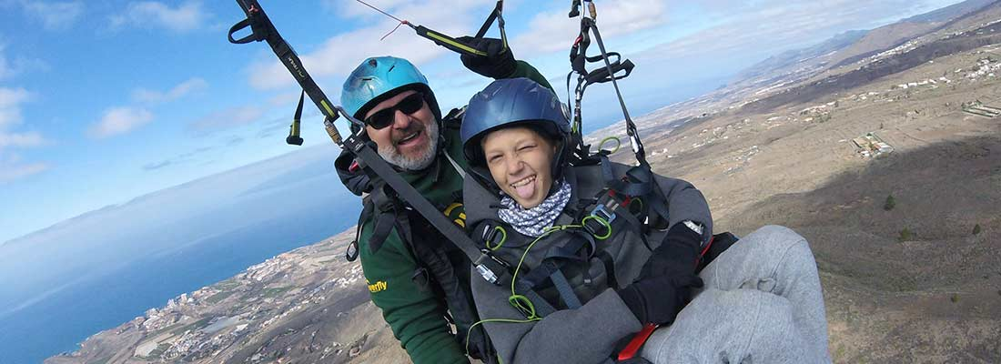 The different types of paragliding here!