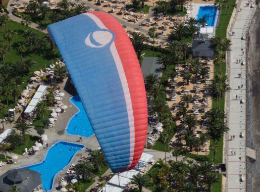 paragliding trip
