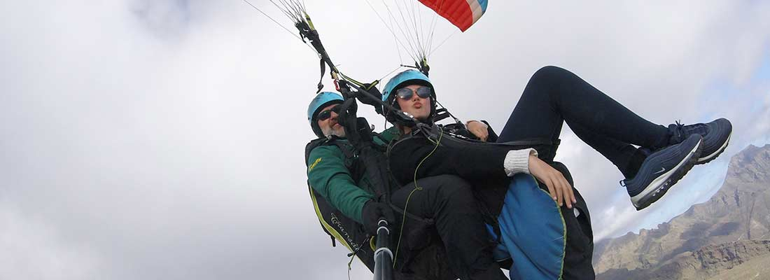 Paragliding flights, which types are there?