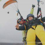 como volar en parapente