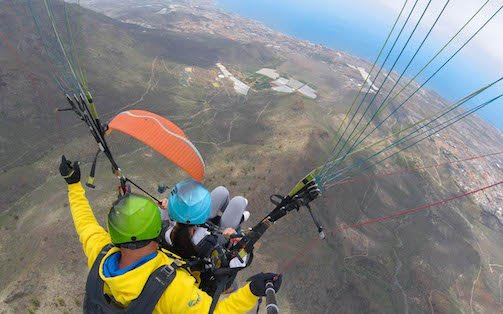 how much does tandem paragliding cost